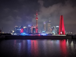 Shanghai Lit up